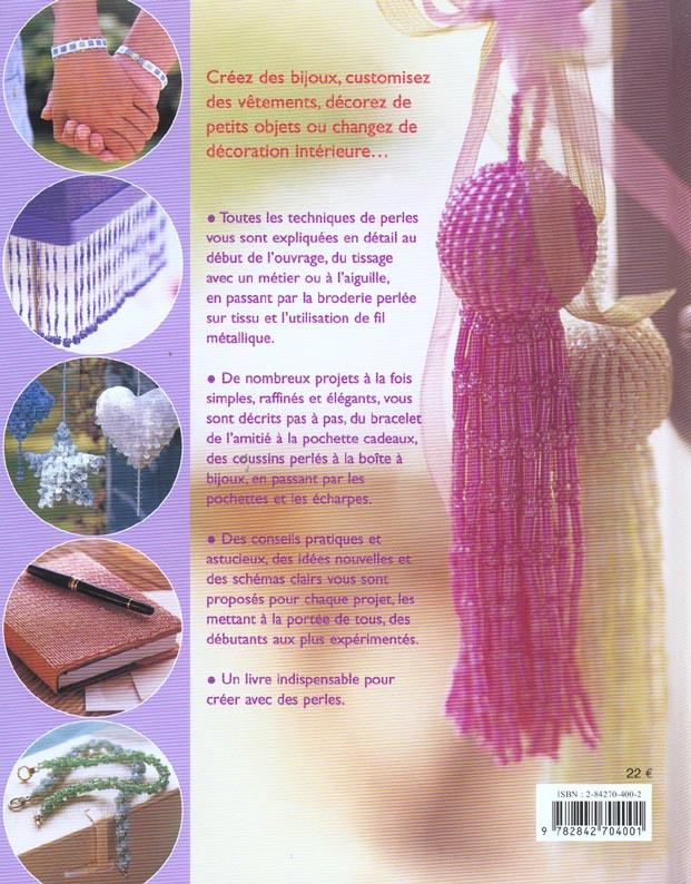 decors de perles : tissage, broderie, bijoux...