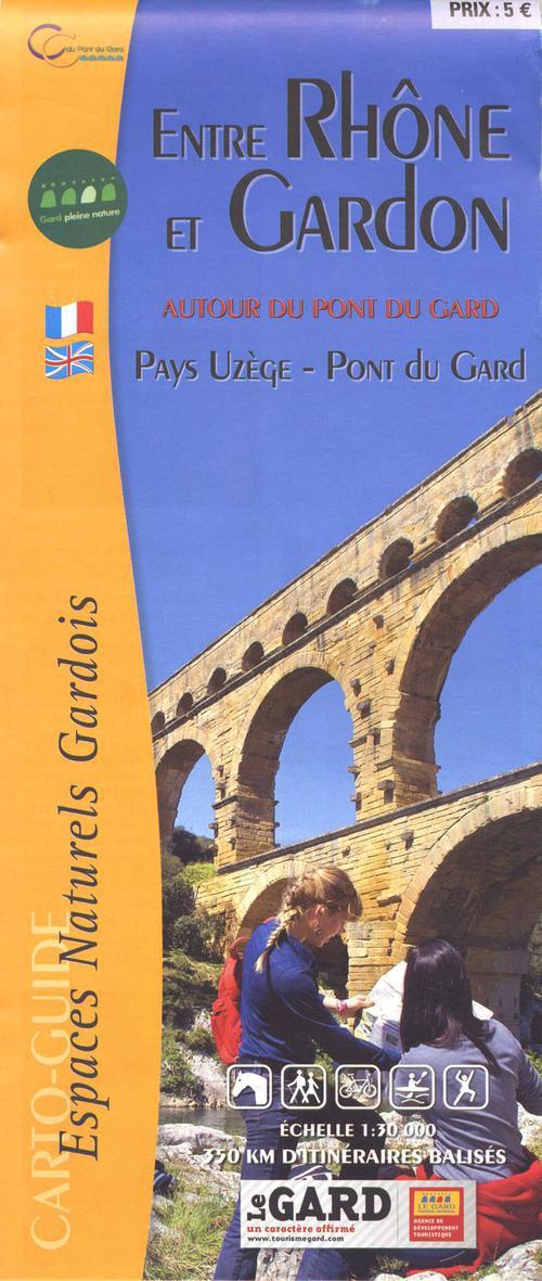 Entre Rhône et Gardon ; pays uzège, pont du Gard