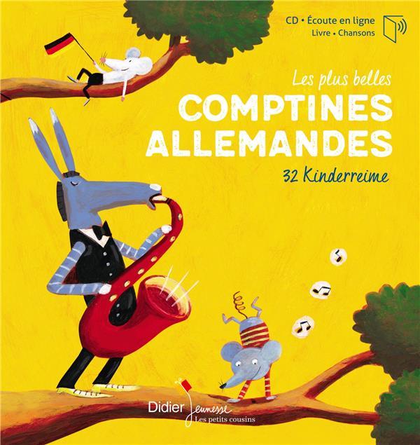LES PLUS BELLES COMPTINES ALLEMANDES  -  32 KINDERREIME (EDITION 2019)