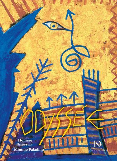 l'Odyssée d'Homère illustrée par Mimmo Paladino