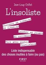 Vente Livre Numérique : Petit livre de - L'Insoliste - Liste indispensable des choses inutiles à faire (ou pas)  - Jean-Loup Chiflet