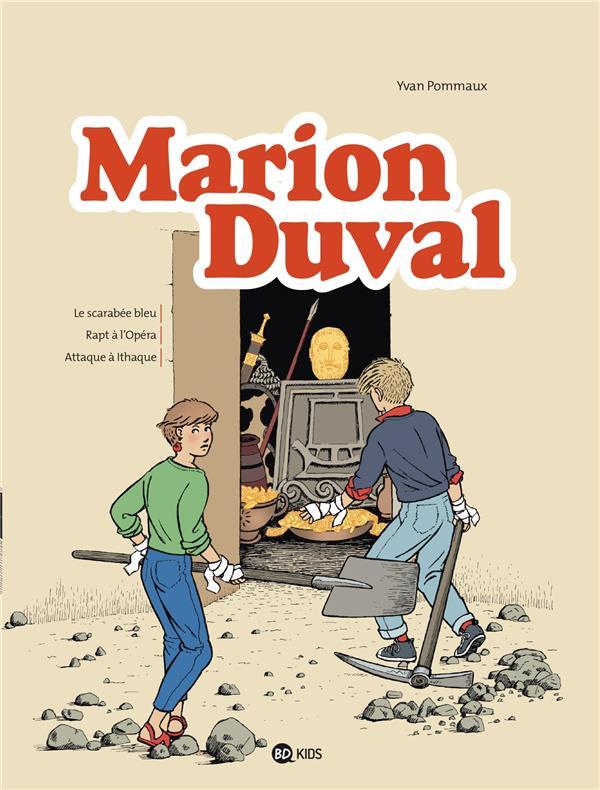 Marion Duval ; Integrale T.1 ; Le Scarabee Bleu ; Rapt A L'Opera ; Attaque A Ithaque