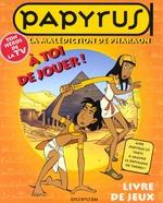 Couverture de Papyrus livre jeux t.1 ; la malediction du pharaon