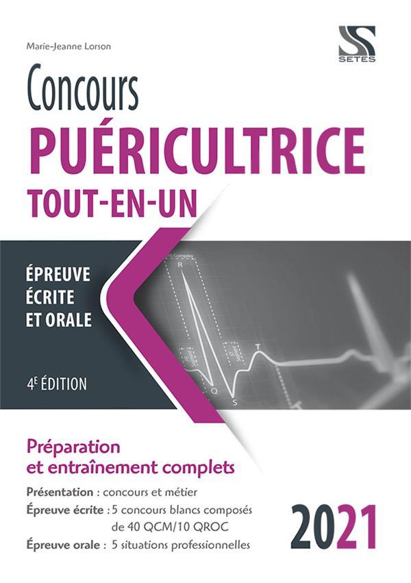 CONCOURS PUERICULTRICE  -  TOUT-EN-UN (EDITION 2021) LORSON, MARIE-JEANNE