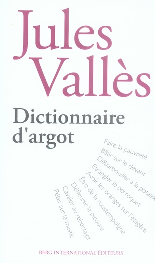 Dictionnaire d'argot