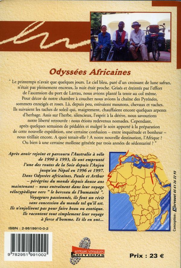 Odyssées africaines ; le carnet de route africain de Paule et Arthur