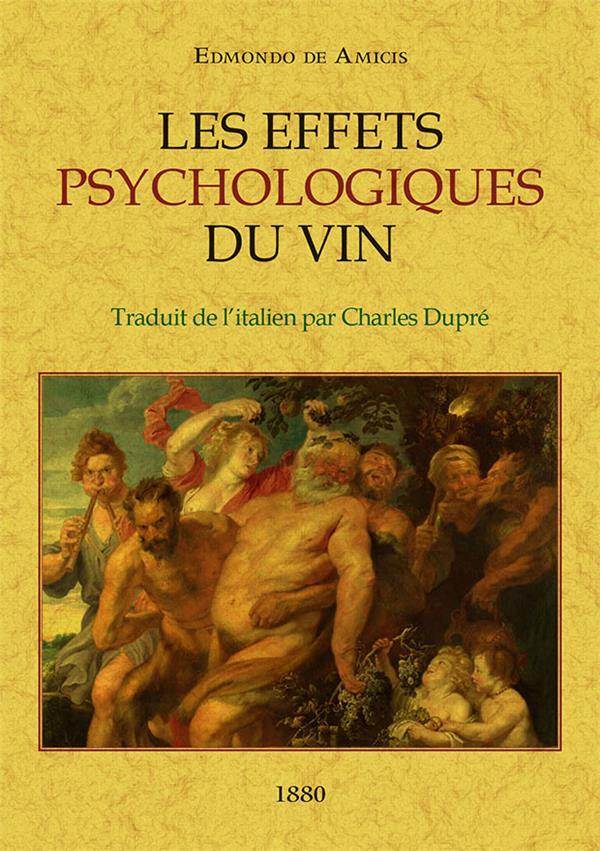 Les effets pychologiques du vin