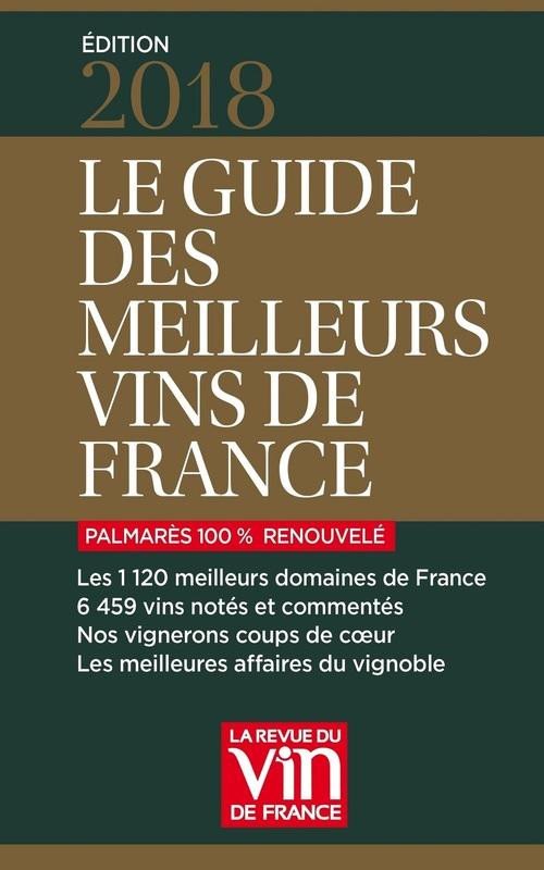 Le guide des meilleurs vins de France (édition 2018)