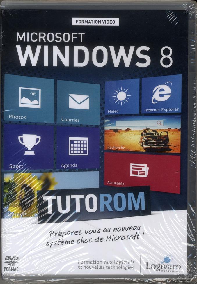Tutorom microsoft windows 8 ; préparez-vous au nouveau système choc de microsoft