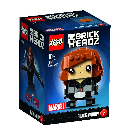 LEGO Brickheads Black Widow