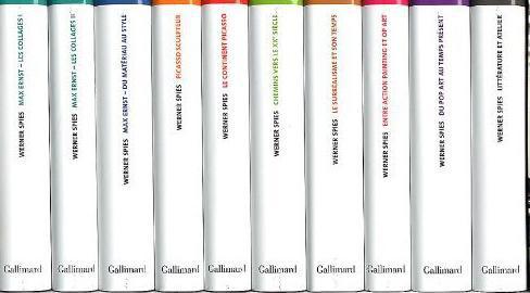 Un inventaire du regard ; écrits sur l'art et la littérature