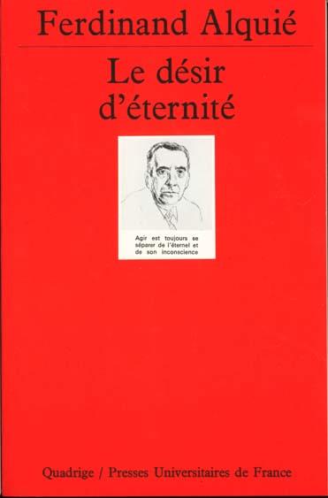 LE DESIR D'ETERNITE 6E ED
