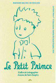 Le Petit Prince ; Coffret De Lithographies