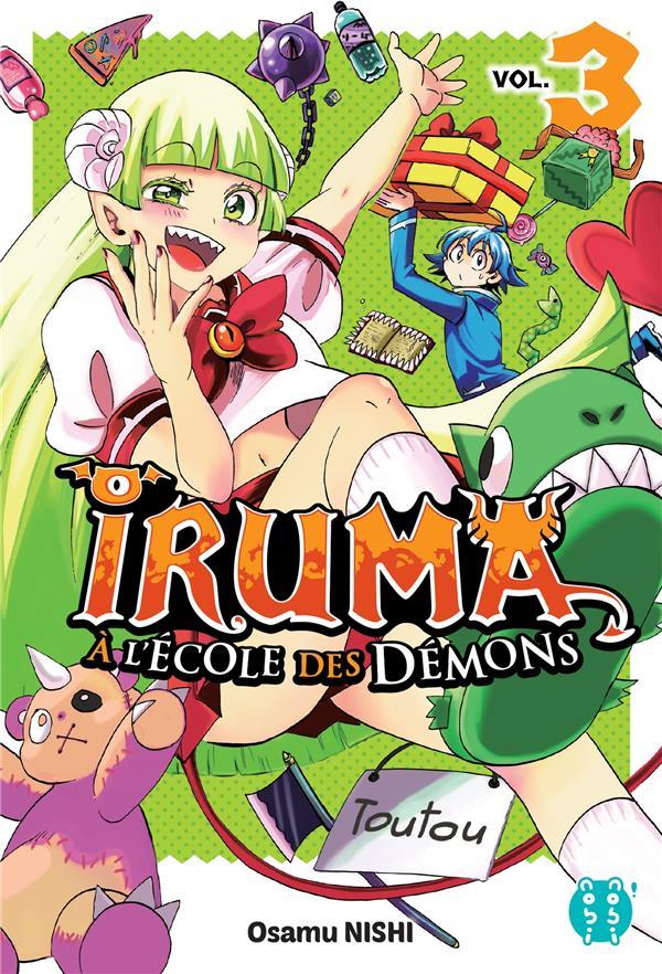 Iruma à l'école des démons T.3