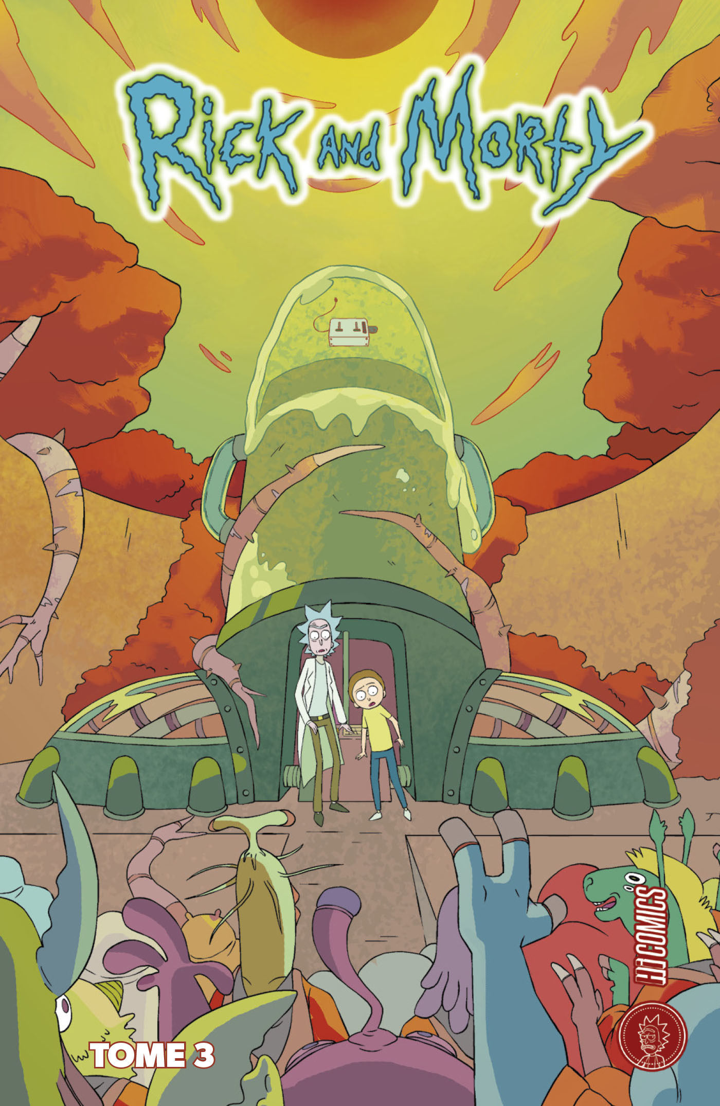 Rick and Morty T.3