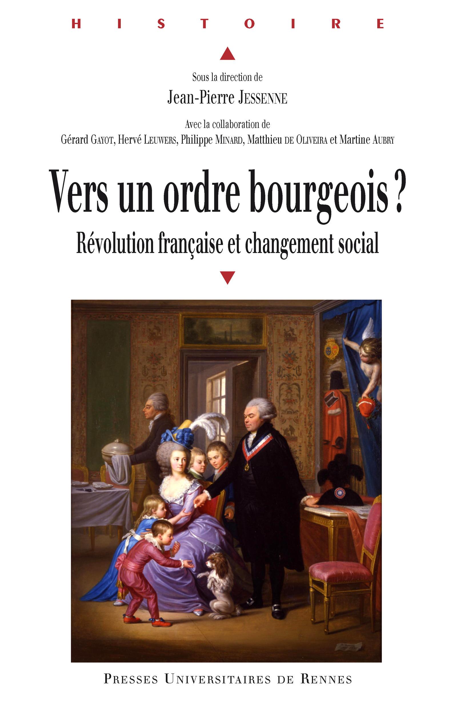 vers un ordre bourgeois ? Révolution française et changement social