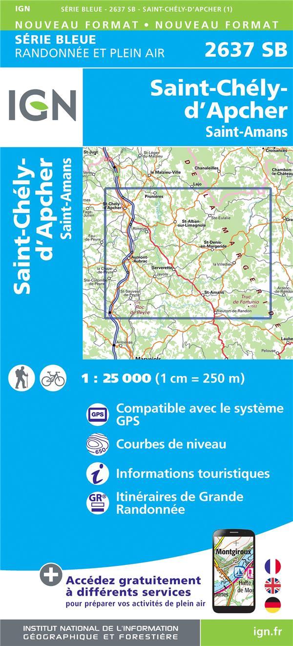 2637SB ; Saint-Chély-d'Apcher, Saint-Amans
