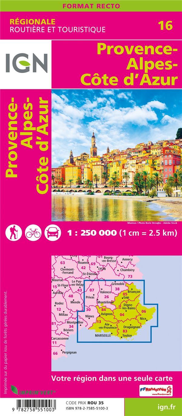 NR16 ; Provence-Alpes-Côte d'Azur (2e édition)