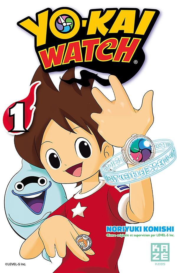 YO-KAI WATCH T01 Konishi Noriyuki