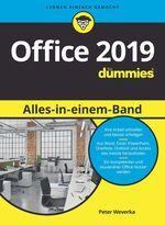 Office 2019 Alles-in-einem-Band für Dummies  - Peter WEVERKA