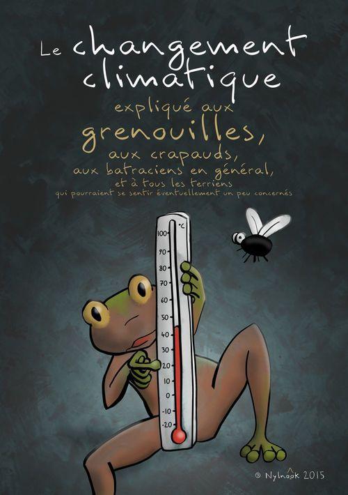 Le changement climatique expliqué aux grenouilles