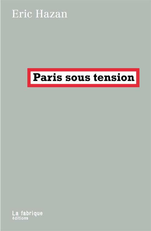 Paris sous tension