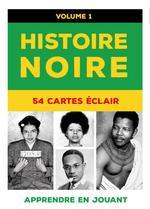 Couverture de Histoire noire t.1 ; 54 cartes éclair
