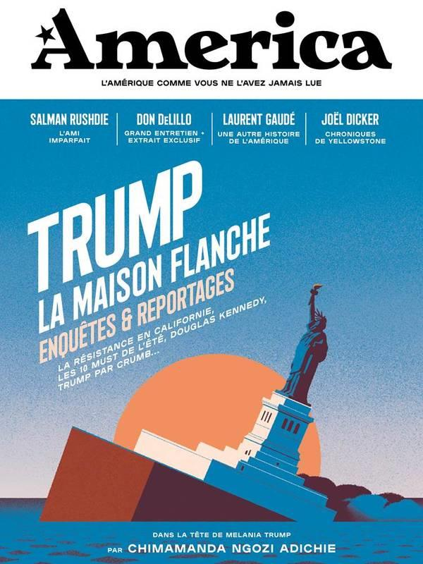 Revue america n.2 ; trump, la maison flanche ; enquetes et reportages