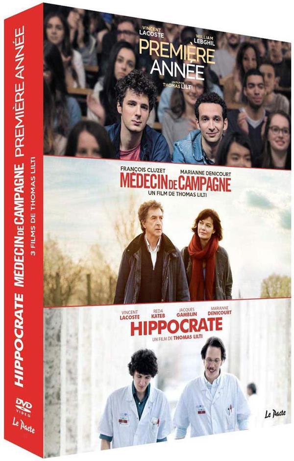 Trilogie de la médecine - Coffret : Première année + Médecin de campagne + Hippocrate