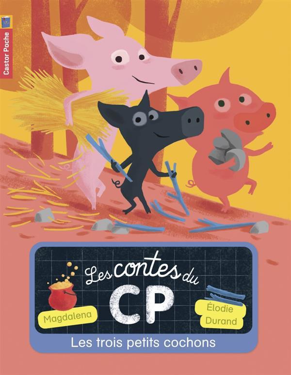 LES CONTES DU CP T.2 ; les trois petits cochons