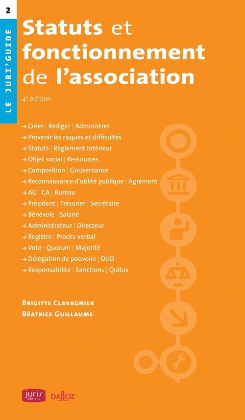 Statuts et fonctionnement de l'association (4e édition)