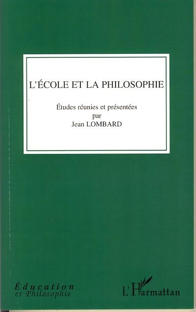 L'école et la philosophie