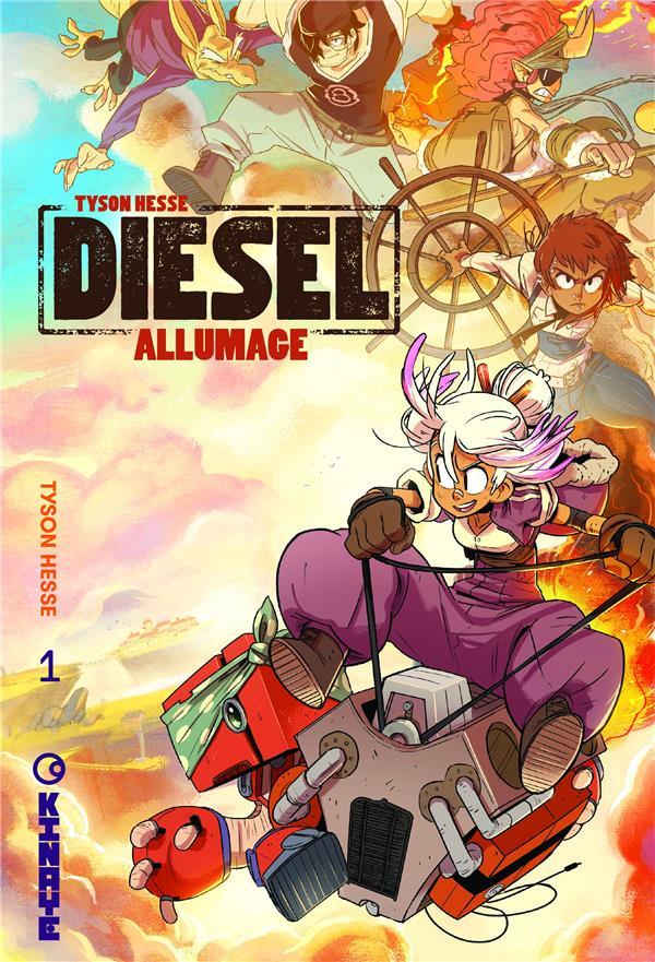 Diesel t.1 ; allumage
