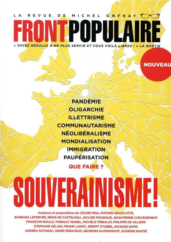 FRONT POPULAIRE N.1  -  SOUVERAINISME !