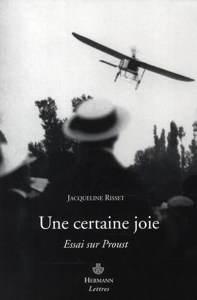 Une certaine joie ; essai sur Proust