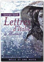 Lettres d'italie a musset