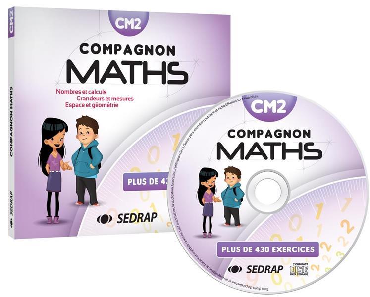 COMPAGNON MATHS ; CM2 ; CD ressources