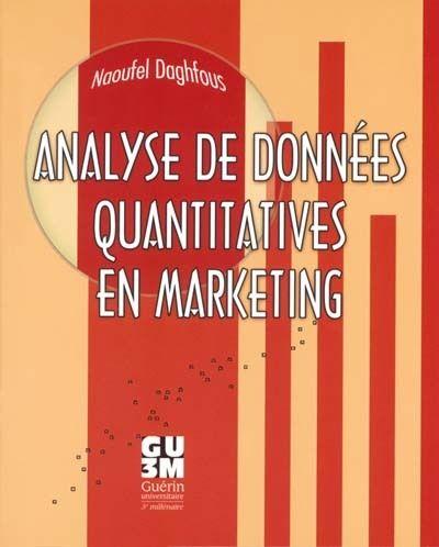 Analyse de données quantitatives en marketing