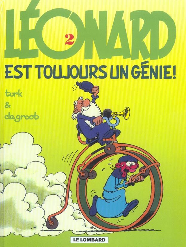 Léonard T.2 ; Léonard est toujours un génie