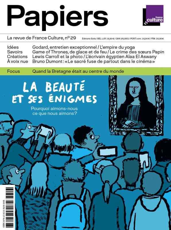 Papiers n.29 ; la revue de france culture