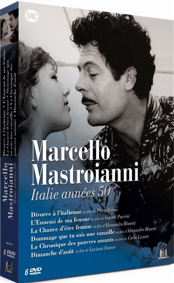 Marcello Mastroianni - Italie années 50