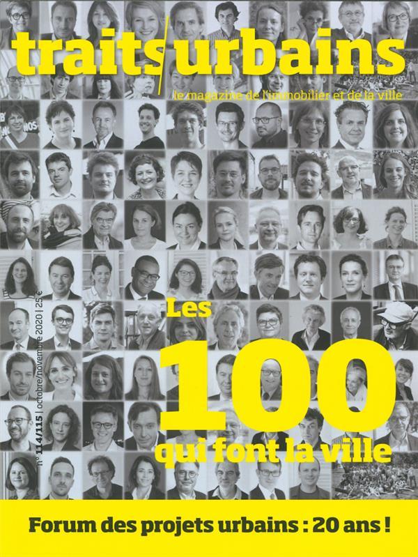Traits urbains n 114  - novembre 2020