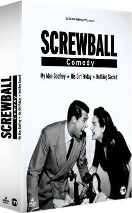 Screwball Comedy, une histoire de la comédie américaine : His Girl Friday (La Dame du vendredi) + My Man Godfrey (Mon homme Godfrey) + Nothing Sacred (La Joyeuse Suicidée)