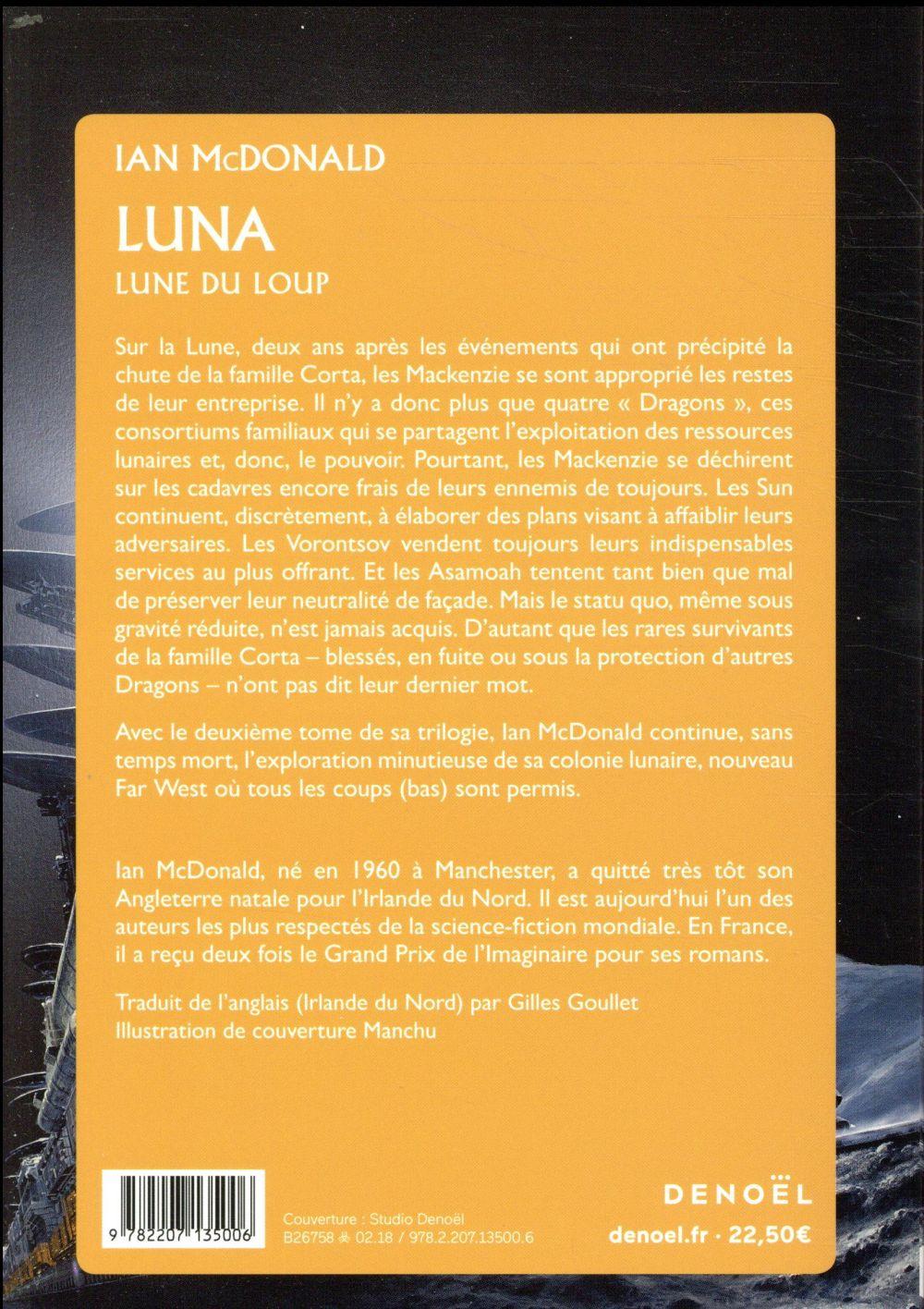 Luna t.2 ; Lune du loup