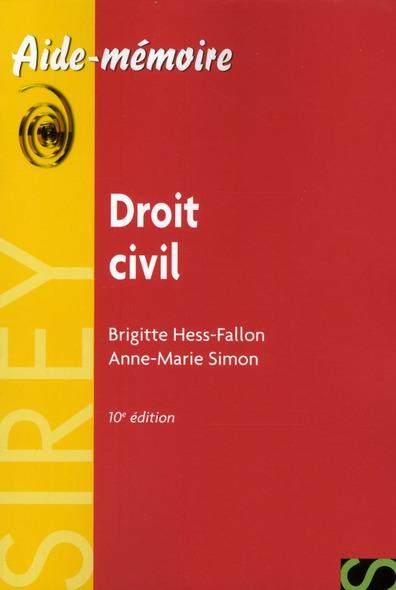Droit civil (10e édition)
