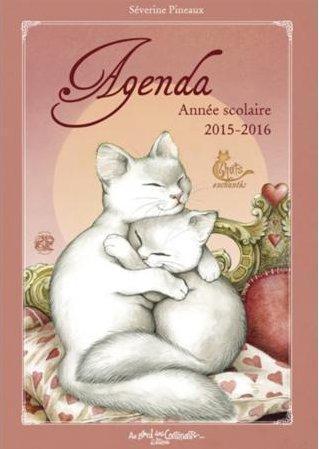 Les chats enchantés ; agenda scolaire 2015-2016
