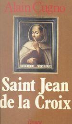 Vente Livre Numérique : Saint Jean de la Croix  - Alain Cugno