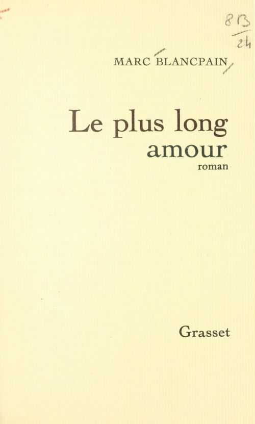 Le plus long amour