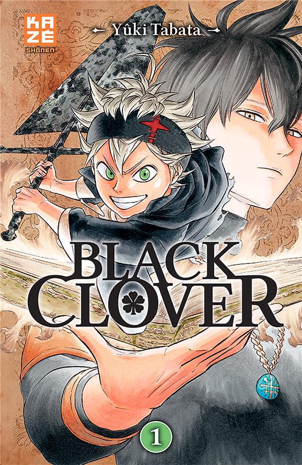 BLACK CLOVER T.1 Tabata Yûki