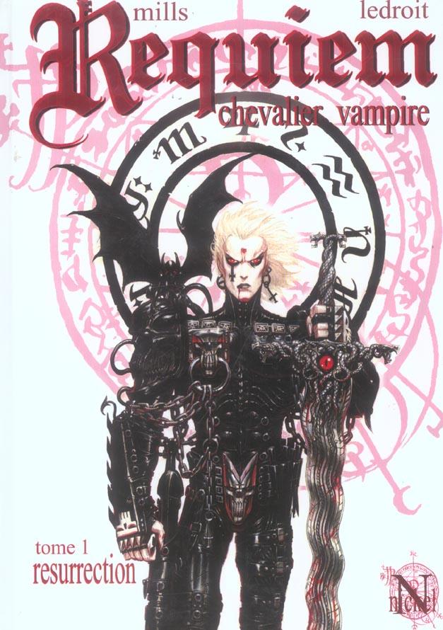 Requiem, chevalier vampire T.1 ; résurrection
